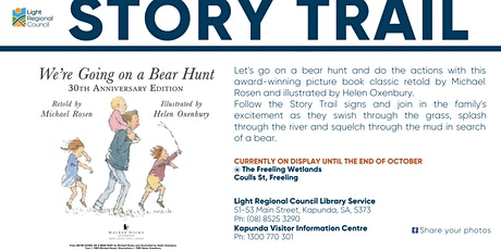 Once Upon A Story Trail - We're going on a bear hunt @ Freeling Wetlands tickets