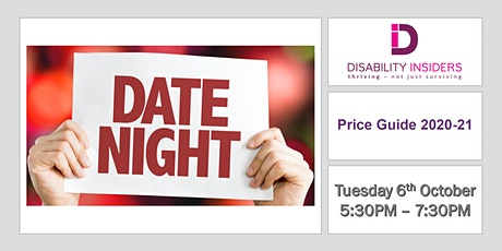 Disability Insiders' Date Night with the Price Guide tickets