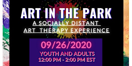 Art in the Park: A Socially Distant Art Therapy Experience tickets
