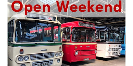 Bridgeton Bus Garage Open Weekend tickets