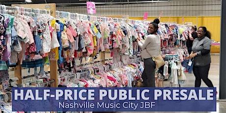 HALF-PRICE PUBLIC PRESALE | OCT 3 | JBF Nashville (Fall 20') tickets