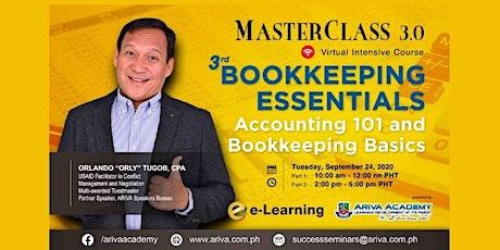 3rd Bookkeeping Essentials tickets