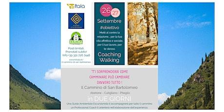 Coaching walking - Cammino di San Bartolomeo biglietti