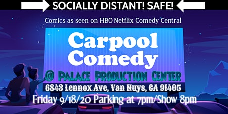 Carpool Comedy Drive Up Show tickets