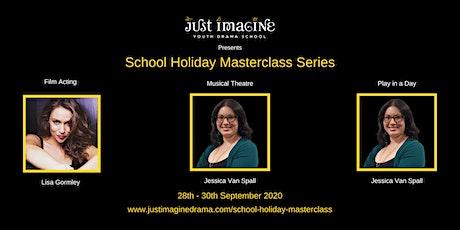 Just Imagine School Holiday Masterclass Series tickets