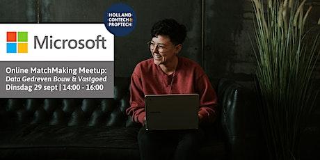 Matchmaking Meetup Microsoft en Holland ConTech & PropTech tickets