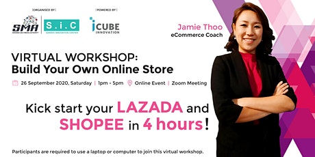 Virtual Workshop : Build Your Own Online Store tickets