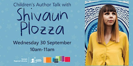 Children's Author Talk with Shivaun Plozza tickets