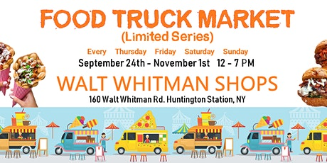 Famous Food Truck Market 2020  (6-week Limited Series) - Long Island, NY tickets