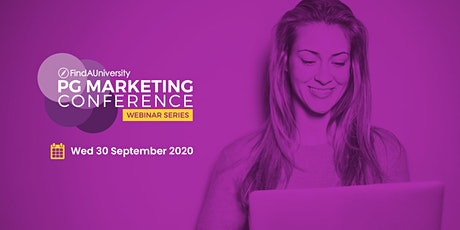 PG Marketing Conference Webinar  - September 2020 tickets