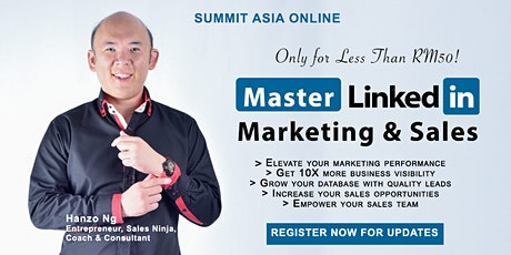 Learn How to Run Ads on LinkedIn For Less Than RM50! tickets