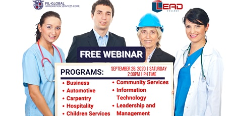 FREE WEBINAR: STUDY WHILE WORKING IN AUSTRALIA! tickets