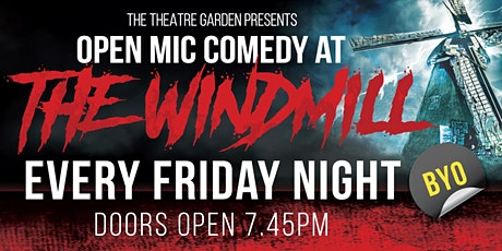 The Windmill Comedy Club  Re-Open tickets