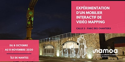Expérimentation – Mobilier urbain interactif de vidéo mapping