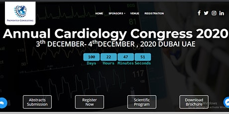 Annual Cardiology Congress 2020 tickets