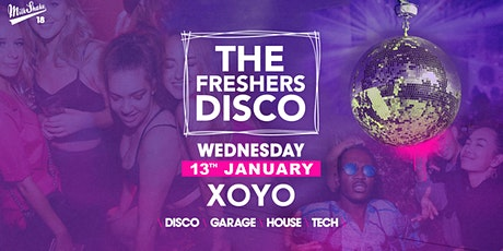 The London Freshers Disco at XOYO tickets