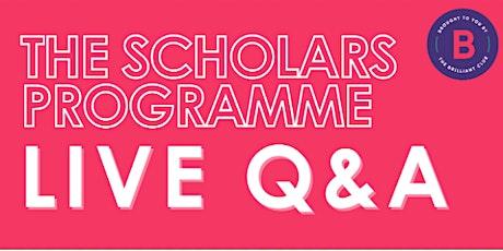 Student Ambassador Q&A and Parent Information  08/10 - Pupils 15-18 tickets