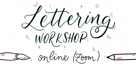 Online HandLettering Workshop ( Webinar 4 Wochen-Kurs ) Tickets