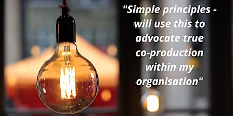 What is co-production? Stop buzzing and start championing!  Free Webinar tickets