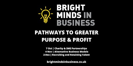 Pathways to Greater Purpose & Profit: Recruiting & Retaining Talent tickets
