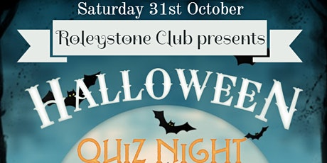 Halloween quiz night tickets