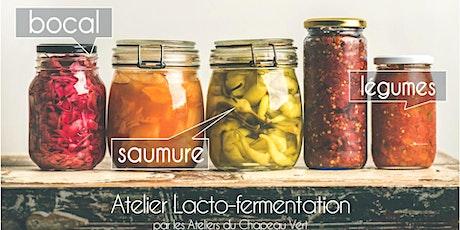 Atelier lacto-fermentation billets