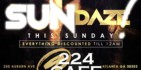 #1 Party On A Sunday Night In The City Of Atlanta! tickets