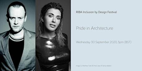 Pride in Architecture tickets