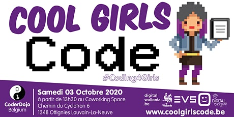 Cool Girls Code Wallonia - 03/10/2020 billets