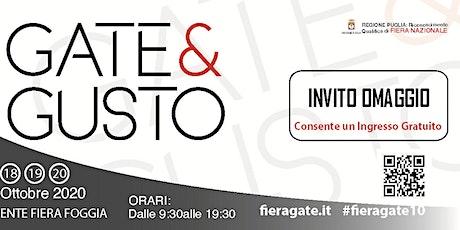 GATE & GUSTO 2020 biglietti