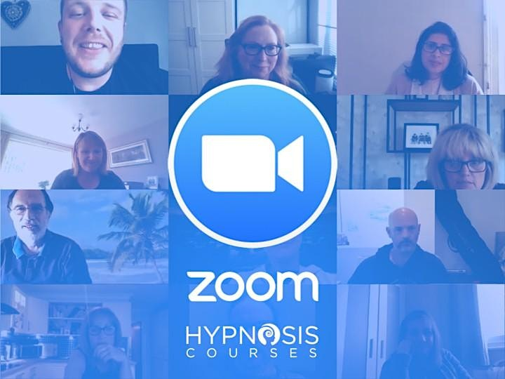 Learn hypnotherapy. FREE discovery session ONLINE. Become a hypnotherapist image