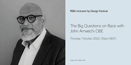 The Big Questions on Race with John Amaechi OBE tickets
