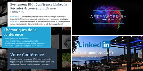 Conférence LinkedIn : Recrutez & trouvez un job avec LinkedIn billets