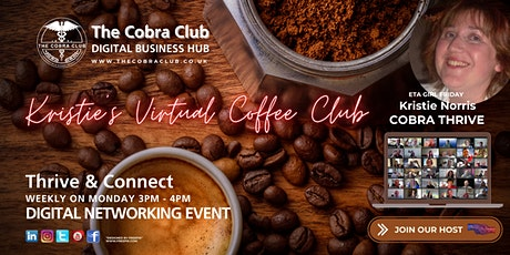 Kristie's Virtual Coffee Club -  Networking Event - Shropshire / Mid Wales tickets