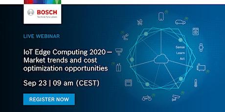 "Webinar ""IoT Edge Computing 2020 PART 1 of 2: The controller & sensor edge"" tickets"