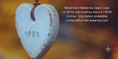 Movement Medicine Online - Open Class billets