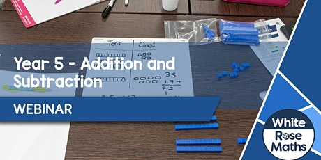 **WEBINAR** Year 5 Addition & Subtraction - 21.09.20 tickets