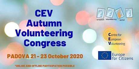 CEV Autumn Volunteering Congress 2020 biglietti