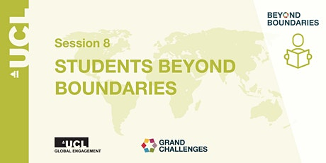 Beyond Boundaries Session 8: Students Beyond Boundaries tickets