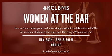 Women at the Bar Panel + Networking Event tickets