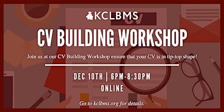 CV Building Workshop tickets