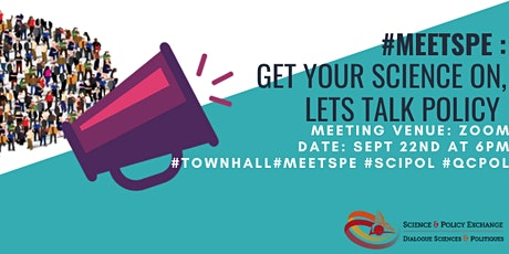 Meet SPE: Get Your Science On, Let's Talk Policy tickets