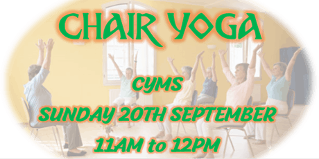 Kildare Town Wellness Weekend ~ Chair Yoga tickets