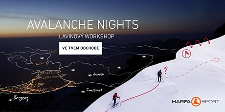 ORTOVOX AVALANCHE NIGHTS | Harfa Sport tickets