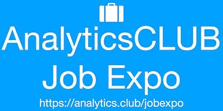 Monthly Virtual JobExpo / Career Fair #Online #AnalyticsClub tickets