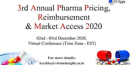 3rd Annual Pharma Pricing, Reimbursement & Market Access 2020 tickets