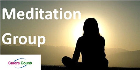Carers Count Meditation Group 1st October 11:00 - 12:00 tickets