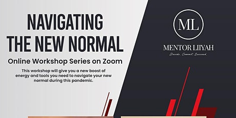 Navigating the new normal online series (Personal growth) tickets