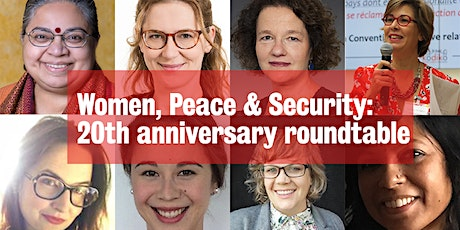 Women, Peace and Security 20th anniversary roundtable tickets