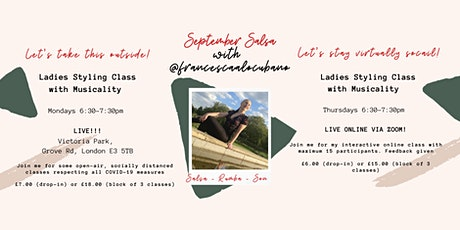 Ladies Salsa Styling with Musicality - DROP IN tickets